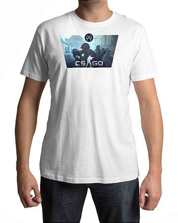 Camiseta CS:GO Counter-Strike Contra-Terroristas