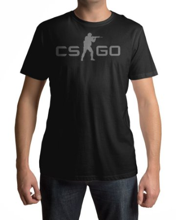 Camiseta CS:GO Counter-Strike Logo