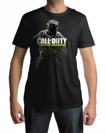 Camiseta COD Call of Duty Infinite Warfare Capa