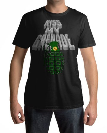 Camiseta Kiss My Grenade