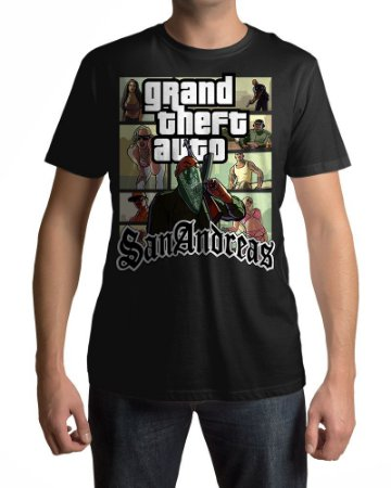 Camiseta GTA San Andreas