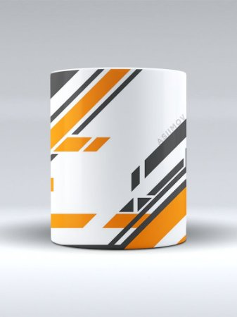 Caneca CSGO Counter-Strike Asiimov