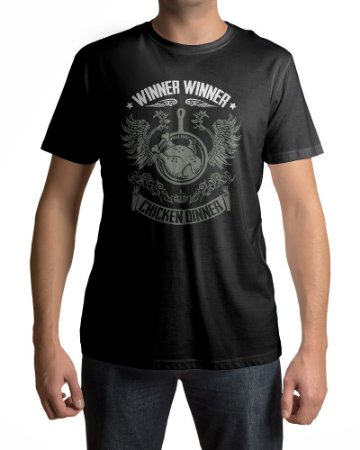 Camiseta PUBG Playerunknown's Battlegrounds Chicken Dinner