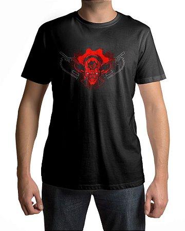 Camiseta Gears of War Skull