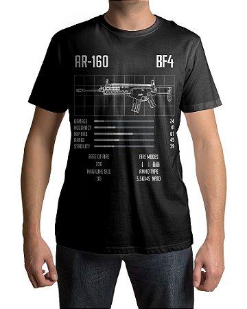 Camiseta BF4 Battlefield 4 AR-160