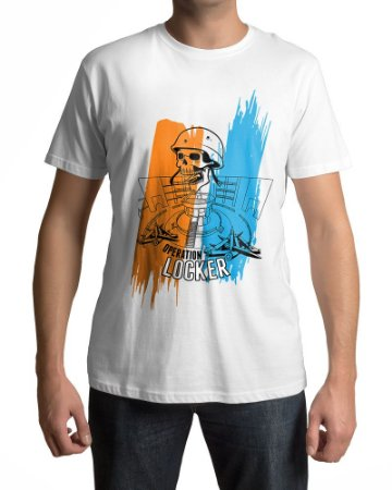 Camiseta BF4 Battlefield 4 Operation Locker