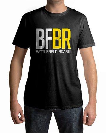 Camiseta Battlefield Brasil Logo