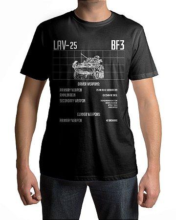 Camiseta BF3 Battlefield 3 LAV-25