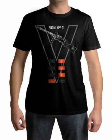 Camiseta BFV Battlefield V Suomi