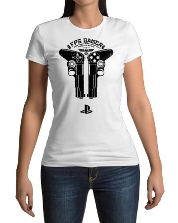 Camiseta Control Playstation FPS Gamer