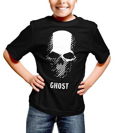 Camiseta Infantil Ghost Recon Wildlands Skull