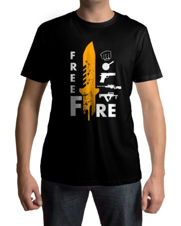 Camiseta Free Fire Loot