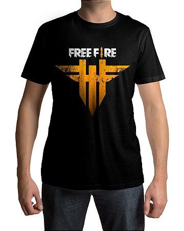 Camiseta Free Fire Logo