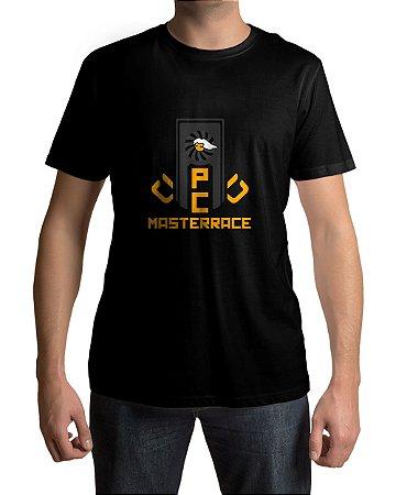 Camiseta PC Gamer Master Race Glorious