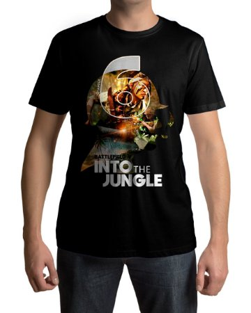 Camiseta BFV Battlefield V Into The Jungle