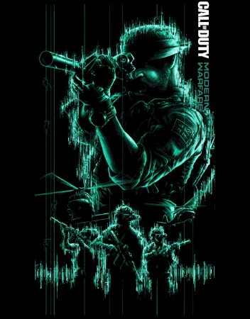 Camiseta Call of Duty Modern Warfare Cap John Price