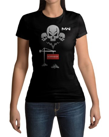 Camiseta Call of Duty Modern Warfare Shipment