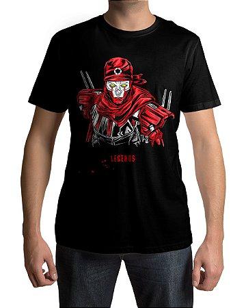 Camiseta APEX Legends Revenant Pesadelo Sintético