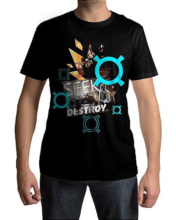 Camiseta BF4 Battlefield 4 Seek And Destroy