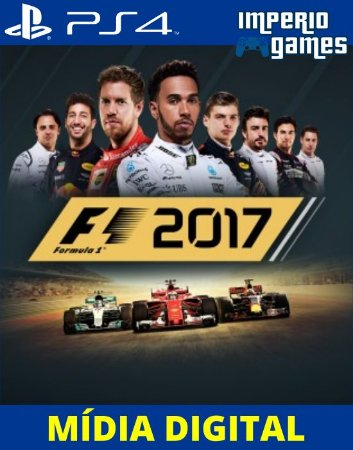 F1 17-FORMULA 1 2017- PS4 - MÍDIA DIGITAL