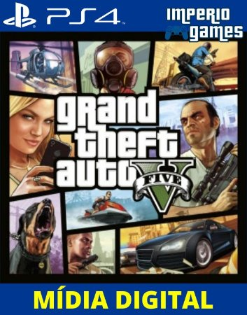 GRAND THEFT AUTO V-GTA5- PS4 - MÍDIA DIGITAL