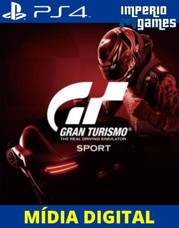 GRAN TURISMO SPORT - PS4 - MÍDIA DIGITAL