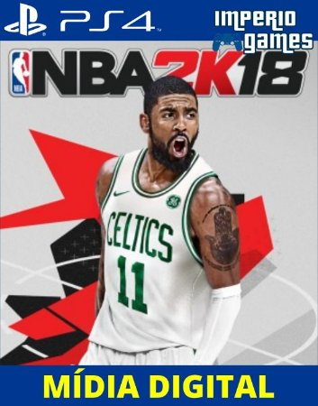 NBA2K18- PS4 - MÍDIA DIGITAL
