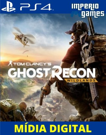 TOM CLANCYS GHOST RECON WILDLANDS- PS4 - MÍDIA DIGITAL