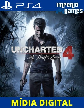 UNCHARTED A THIEFS END- PS4 - MÍDIA DIGITAL