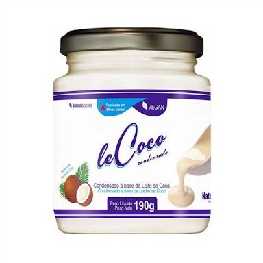Doce de Leite Vegano Le Coco Natural Science - 190g