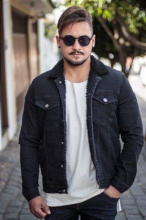 Jaqueta Effel Jeans Shee Preto