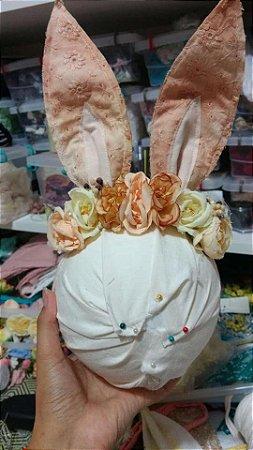 Headbnd de coelho vintage floral Vivi
