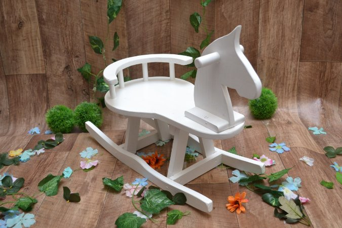 Cavalo Rustico Branco