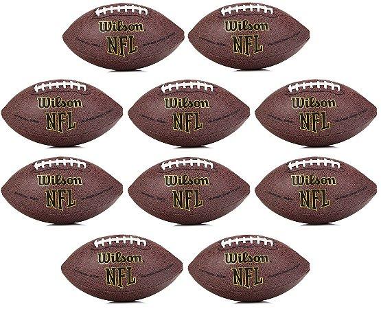 51c1ecc16 Bola Wilson NFL Super Grip Oficial - Pack com 10 - Sport America