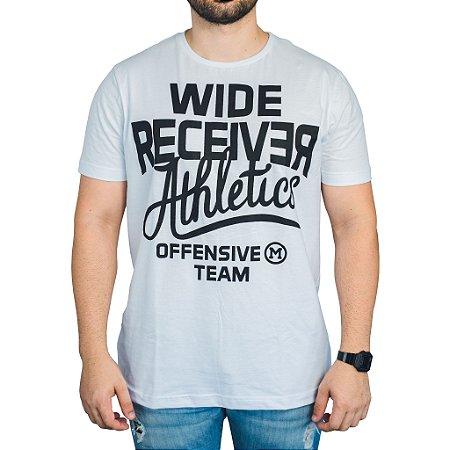 Camiseta Wide Receiver Mark Company - Branca