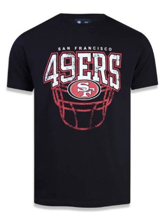 Camiseta NFL San Francisco 49ers New Era - Preta