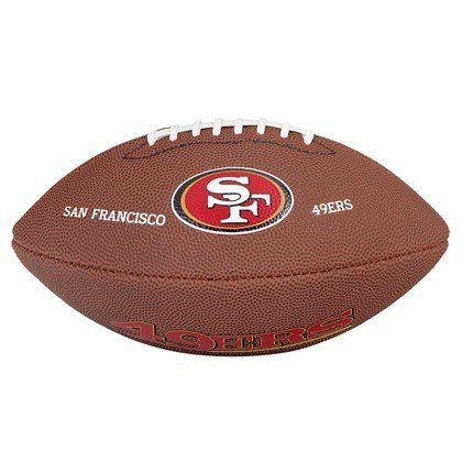 Bola Wilson NFL Team San Francisco 49ers Junior