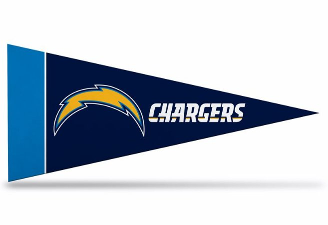 Flâmula NFL Los Angeles Chargers