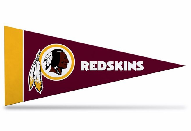 Flâmula NFL Washington Redskins