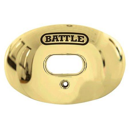 Protetor Bucal Oxygen Gold Chrome Battle