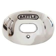 Protetor Bucal Oxygen Silver Chrome Battle