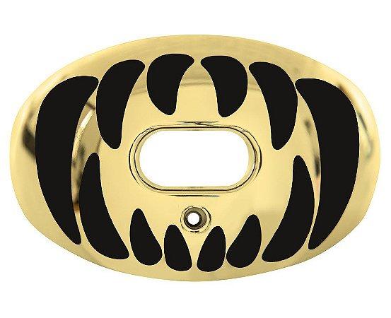 Protetor Bucal Oxygen Predator Gold Chrome Battle