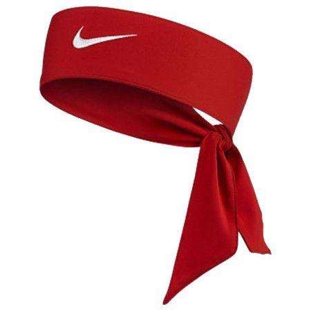 Faixa de Cabelo Nike Dri-Fit Head Tie 2.0 - Vermelha