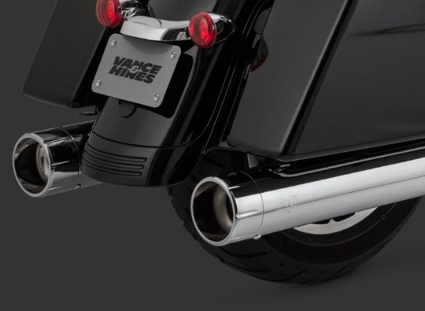 Escapamento Vance & Hines OVERSIZED 450 RAIDER SLIP-ON 16658 para Harley Davidson Touring Milwaukee Eight