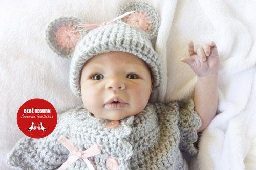 Boneca Bebê Reborn Menina Realista Um Verdadeiro Presente Com Enxoval E Acessórios