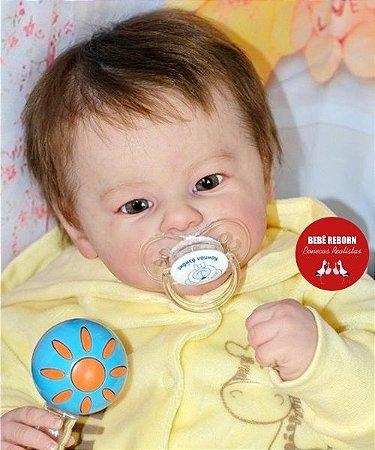 Bebê Reborn Menino Detalhes Reais De Um Bebê De Verdade Lindo Bebê 51 Cm Acompanha Enxoval