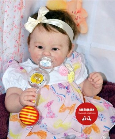 Bebê Reborn Menina Detalhes Reais De Um Bebê De Verdade Lindíssima Com Lindo Enxoval