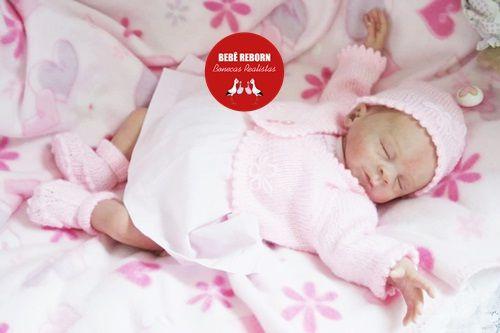 Bebê Reborn Menina Detalhes Reais Lindíssima Parece Um Bebê De Verdade Acompanha Acessórios