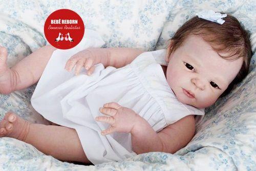 Bebê Reborn Menina Detalhes Reais Bebê Maravilhosa Com Corpo Todo Em Vinil Siliconado