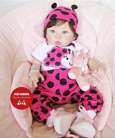 Bebê Reborn Menina Detalhes Reais De Um Bebê De Verdade Bebê Sofisticada Lindíssima